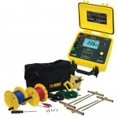 AEMC 4630-150 Four Point Ground Resistance Tester Kit