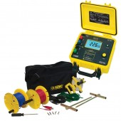 AEMC 4630-150 Three Point Ground Resistance Tester Kit with 150 Foot Leads (catalog number 2135.22)