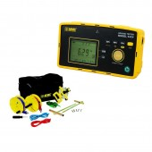 AEMC 6424 Kit-150 ft Advanced Ground Resistance Tester Kit with 150' test leads and stakes