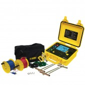 AEMC 6470-B Multi Function Ground Resistance Tester with 300 Foot Test Lead Kit