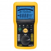 AEMC 6526 Insulation Resistance Tester - 50V, 100V, 250V, 500V, 1000V Megohmmeter with Bluetooth