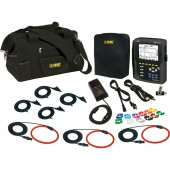 AEMC PowerPad III Model 8333 High Current Kit - with three 6500 amp large flexible current probes