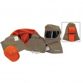 100 Cal Arc Flash Pro Air Hood System Full Body Protection Kit