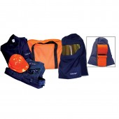 12 Cal Arc Flash Pro Air Hood System Full Body Protection Kit