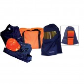 20 Cal Arc Flash Full Body Suit with Pro Air Hood System