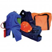 8 Cal Arc Flash Pro Air Hood System Full Body Protection Kit