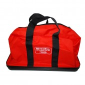 "Mitchell Instrument Heavy Duty Safety Apparel Bag With Zipper Closure 24"" x 10"" x 13"""