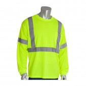 Hi-Vis Yellow Long Sleeve With Class 2 Stripping Insect Repellent Shirt