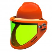 Salisbury AS1200FB-PPC 12 cal/cm2 Arc Flash Protection Face Shield For Full Brim Hats