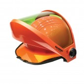 Salisbury AS1200U-PPC 12 cal/cm2 Arc Flash Protection Face Shield Universal Front Brim (hard hat not included)