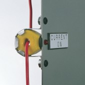 wire mounted current indicator