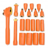 "Cementex Insulated 30 Piece Ratchet Set ISHS-30L 3/8"" Drive"