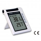 Center 31 Precision Wall or Desk Thermo-Hygrometer with Alarm