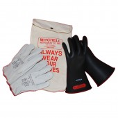 Class 0 1000V High Voltage Insulated Glove Kit Size 10.5
