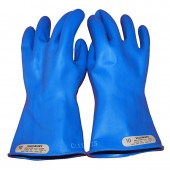 Salisbury by Honeywell Blue Insulated High Voltage Electrician's Gloves: Class 00 (500V)