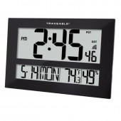 Control Company 1088 Giants Digits Radio Atomic Traceable Clock