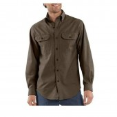 Carhartt Men's Long-Sleeve Chambray Shirt S202