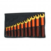 Cementex IOEWS-11 - Insulated Tool Kit - 11-Piece Open End Wrench Set