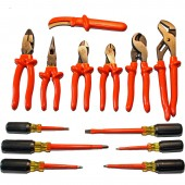 Cementex ITC13-UTK - Insulated Electrician's Tool Set - 13 Piece Utility Tool Kit