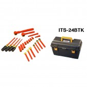 Cementex ITS-24BTK - 24 Piece Battery Technician Tool Kit - Insulated Electrician Tools