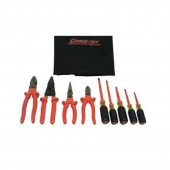 Cementex TR-9ELK - Basic Electrician's Service Roll - 9 Piece Insulated Tool Set