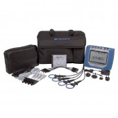 Dranetz HDPQ Guide Package Three Phase Smart  Power Quality Monitor with 300 Amp Mini-Flex Current Probes
