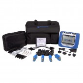 Dranetz HDPQ Visa Package 3 Phase Low Current Power Quality and Energy Monitor with 100 Amp Clamp-On Current Probes