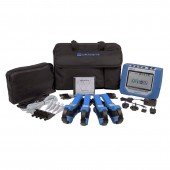 Dranetz HDPQ Visa Package Three Phase Power Quality and Energy Monitor with 500 Amp Clamp-On Current Probes