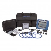 Dranetz HDPQ Visa Package 3 Phase Power Quality and Energy Monitor with 6000 Amp Flex Current Probes
