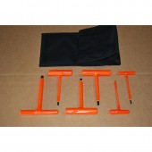 Cementex Insulated T-Handle Hex Wrench Kit