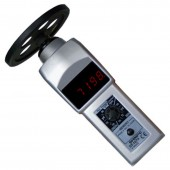 Shimpo DT-107A-S12 LED Display Contact Tachometer with 12 inch Circumference measuring wheel