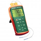 Extech EA15 EasyView Two Channel Thermocouple Temperature Datalogger