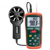 Extech AN200 Vane Style Thermo-Anemometer with IR