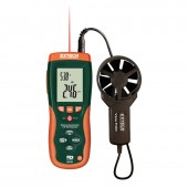 Extech HD300 Vane Style Air Flow Meter with IR Thermometer