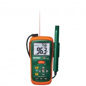 Thermo Hygrometer with IR Thermometer