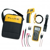 FLUKE 116/62 HVAC MULTIMETER & IR THERMOMETER COMBO KIT