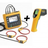 Fluke 1730 Three Phase Power and Energy Logger plus 561 IR thermometer Value Kit