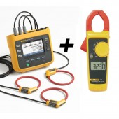 Fluke 1730 Three Phase Power and Energy Logger plus AC Clamp Value Kit