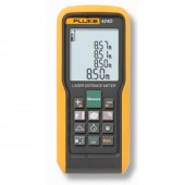 Fluke 424 Laser Distance Meter Measures up to 330 Feet with 0.04 inch accuracy - laser tape measure