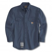 CRH-FRS160 Flame-Resistant Twill Shirt - DARK NAVY