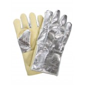 "14"" Winged Thumb Thermobest Glove/NSA Fusion Aluminized Carbon Kevlar Back, 15oz. Wool Liner"