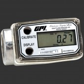 "GPI A109GMA025NA1 1/4"" Aluminum Battery Powered Flow Meter"