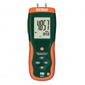 Extech HD750-NIST Differential Pressure Manometer 5PSI with NIST Certification