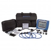 Dranetz HDPQ Visa Package 3 Phase Power Quality and Energy Monitor with 3000 Amp Flex Current Probes
