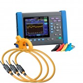 Hioki PW3198 Power Quality Analyzer Kit - 500/5000 Amp Flex Probe Professional Kit