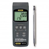 General Tools HWA4214SD Hotwire Anemometer Thermometer with SD Card Datalogging