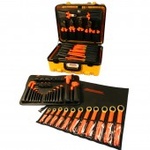 Cementex ITS-60B/T-DLX-W - Insulated Electrician's Tool Set - 59 Piece Deluxe MRO Super Kit w/ Torque Wrench