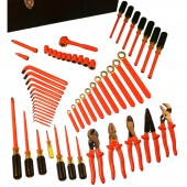Cementex ITS-60B - 58 Piece Insulated Electrician Tool Set - MRO Super Kit