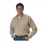 Lakeland Industries Flame Resistant HRC 2 Khaki Industrial Work Shirt