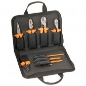 Klein Tools 33526 - 8-Piece Basic Insulated Tool Kit